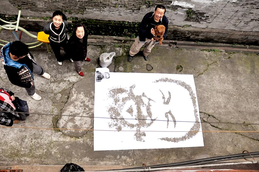 Red Hong Yi-Ai Weiwei-portrait-hisheji (1)