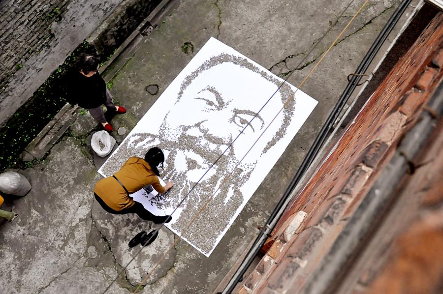 Red Hong Yi-Ai Weiwei-portrait-hisheji (4)