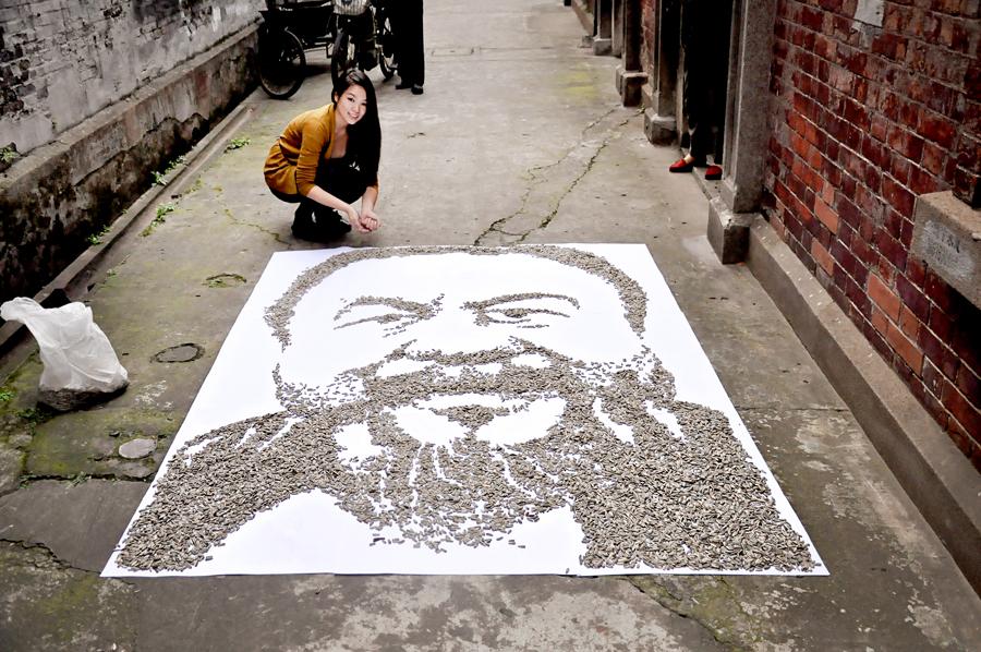 Red Hong Yi-Ai Weiwei-portrait-hisheji (6)