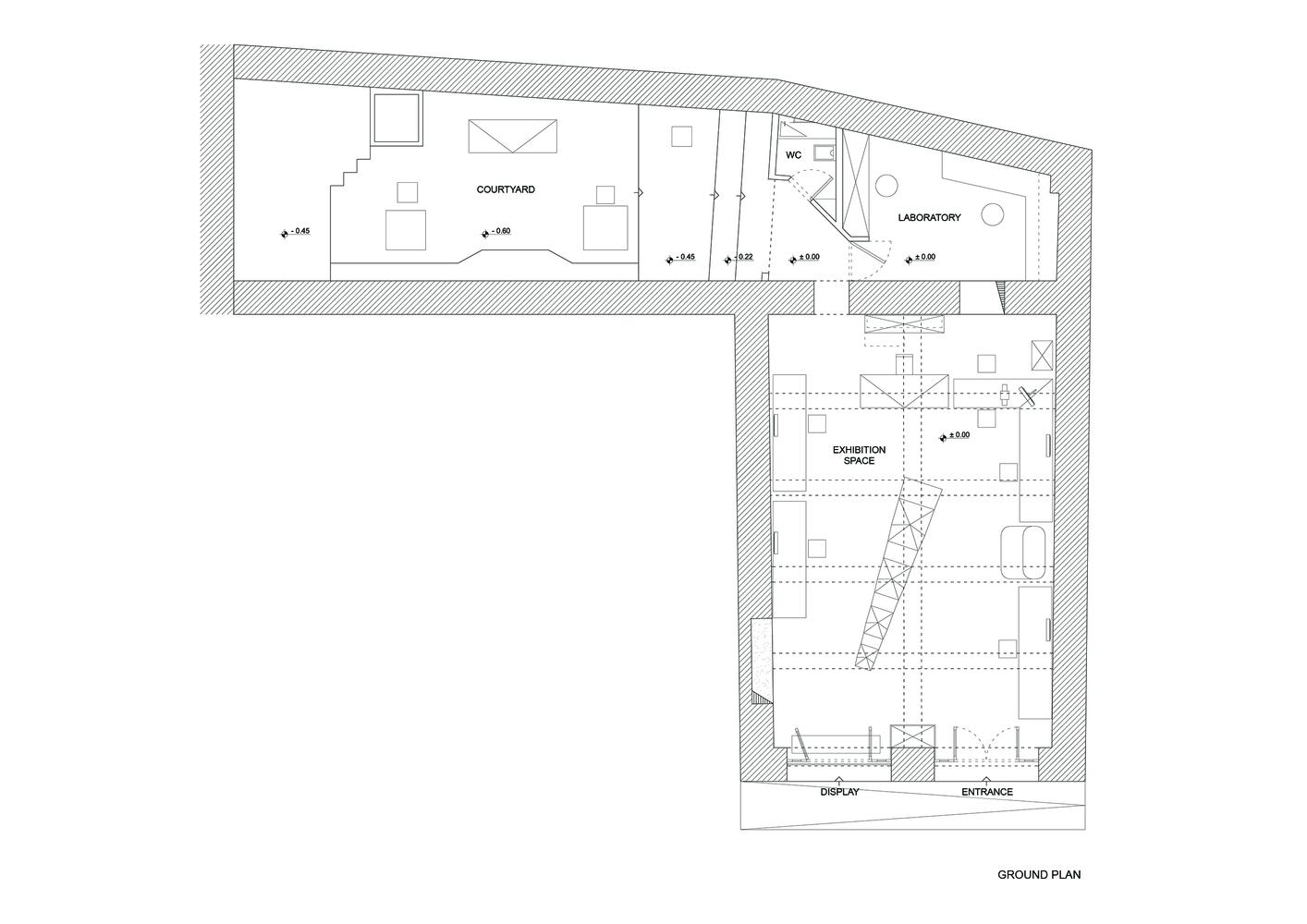 314_Architecture_Studio-glasses_store_ground_plan-hisheji