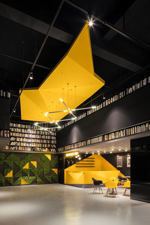005-Cinema-of-Vitality-in-Yellow-Origami-Baichuan-International-Cinema-By-UM-DESIGN-960x1440