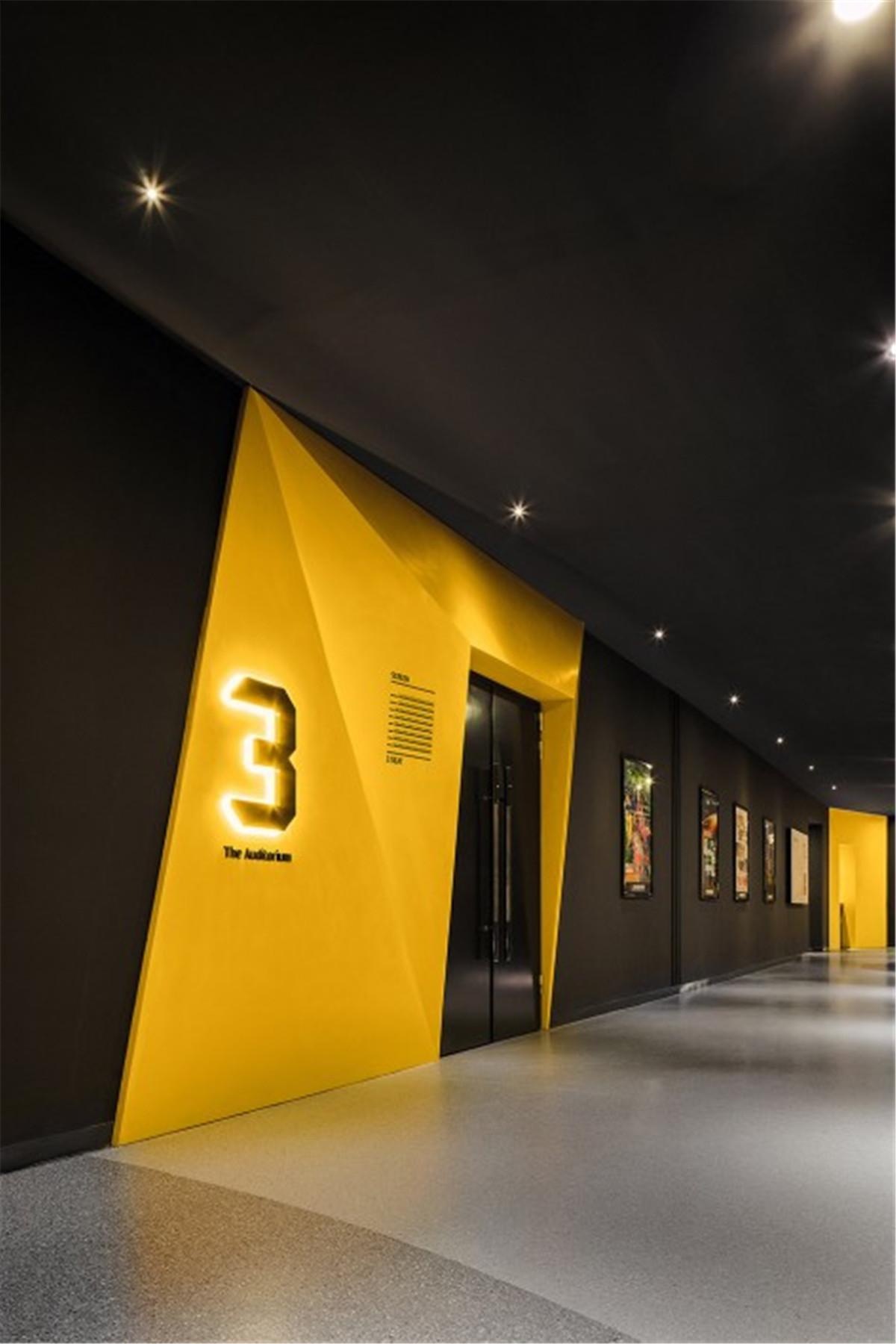 012-Cinema-of-Vitality-in-Yellow-Origami-Baichuan-International-Cinema-By-UM-DESIGN-472x708