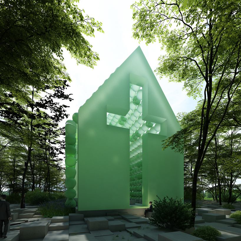 town-and-concrete-green-chapel-designboom-07