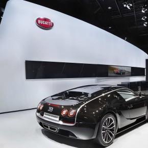BUGATTI at auto show of china