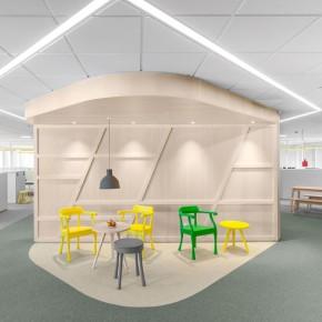 瑞典赛马和博彩机构的办公室怎么设计?