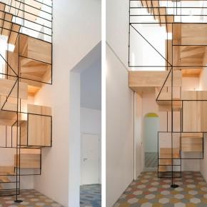 意大利Francesco Librizzi 工作室的楼梯设计
