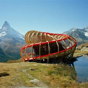 螺旋式全景观测台