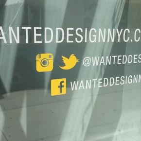 纽约设计周之WantedDesign续篇