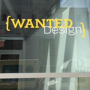 纽约设计周之WantedDesign