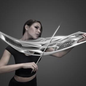 未来感十足的3D打印乐器