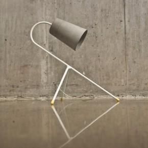 有温度的混凝土:极致超薄灯罩