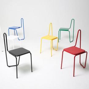 """毕加索笔下的线条""""画""""出来的椅子"""