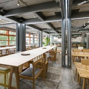 快来围观日本的WeWork:废弃仓库改造的大型共享办公空间