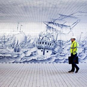 """阿姆斯特丹有条""""青花瓷""""味儿的隧道"""