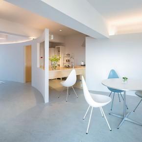 旧公寓改造项目:为母亲与女儿设计