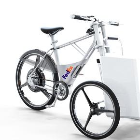 看完联邦快递的智能自行车,觉得送快递也很酷