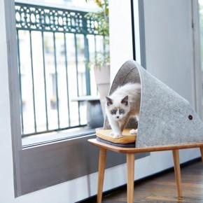 """专门给宠物设计家具的MEYOU众筹了一张""""猫床"""""""