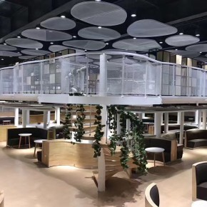 细胞丛林 | 废弃泳池改造的众创空间