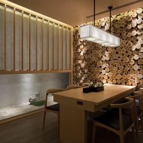这个日式餐厅是摺纸摺出来的