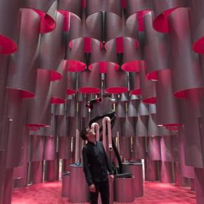 Design Lab:粉色的蜂巢带你探寻声音的奥妙
