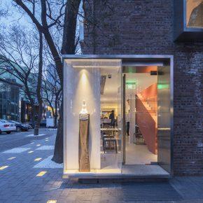 """北京这家网红甜品店的外墙可以""""播报""""空气质量"""