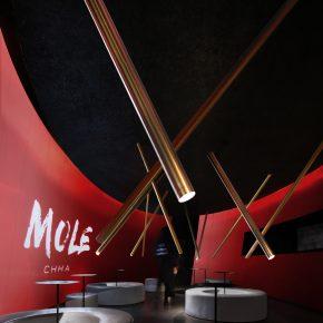 这个茶饮品牌用68平米探讨商业空间的社交体验