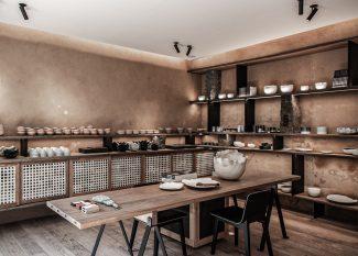 """巴黎建筑师用两家店告诉你什么是""""低工艺""""美学"""