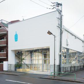 你知道蓝瓶咖啡在日本的第一家店是由仓库改造的吗?