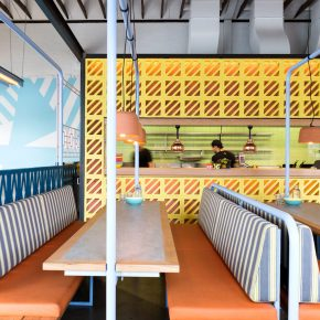 这家餐厅如何依靠色彩、图案和纹理使自己大受欢迎?