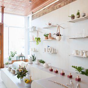 用廉价的材料打造一间高大上的花店