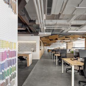 五德设计丨OPEN OFFICE空间设计