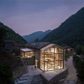 西涛设计丨青龙坞言几又乡村胶囊旅社书店
