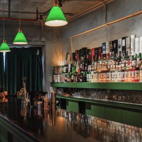 广州负空间设计丨69㎡的海明威小酒吧