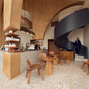 在设计师手里,一根柱子就能让咖啡店大出风头!