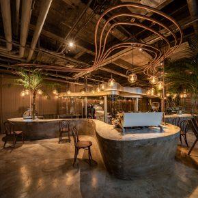 力场(北京)建筑设计丨Metal hands Coffee铁手咖啡制造总局