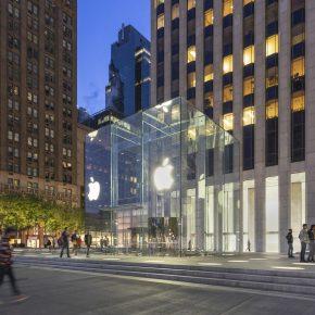纽约·第五大道苹果旗舰店设计 / Foster+Partners