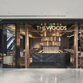 FUNUN LAB 空间设计研究室丨THE WOODS CAFé