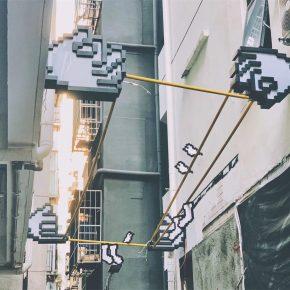 """立品设计丨玉田社区""""握手""""装置"""