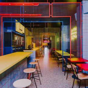 在波兰市中心竟藏着一家美国街头风的复古快餐店