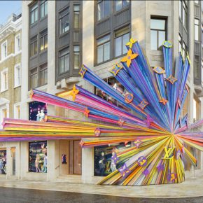 LV在伦敦重装开业,建筑比时装更有范儿