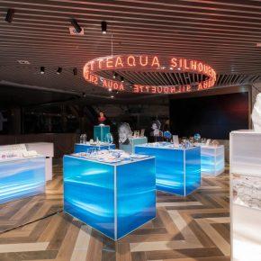 艾舍尔设计 | 首饰品牌aqua silhouette第一家快闪店