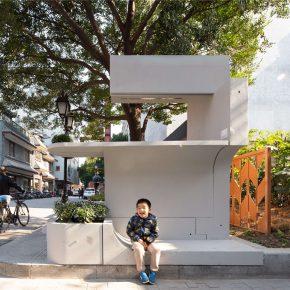 灰空间建筑 | 砼亭-城市装置家具